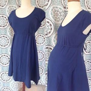 Simple Summer Motherhood Maternity Dress